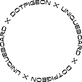 rotating dotpigeon